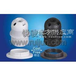 E27-S04插线式半牙灯头图片