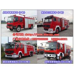 2吨东风尖头汽油水罐消防车图片
