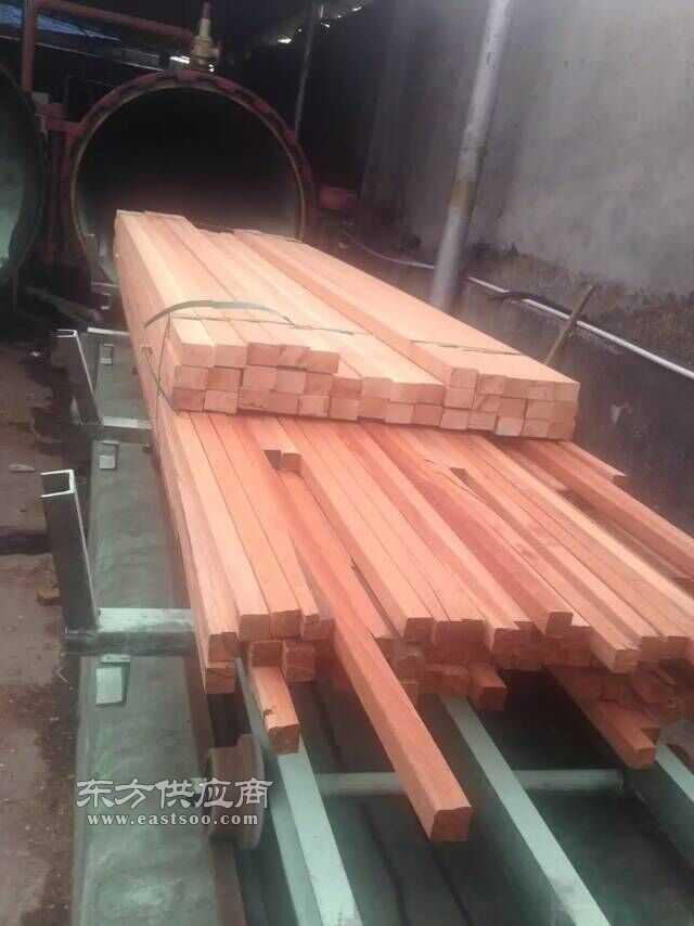 红柳桉木原木,柳桉木防腐木