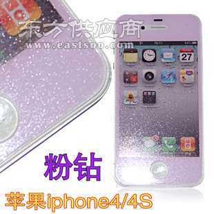 iphone4彩钻保护膜