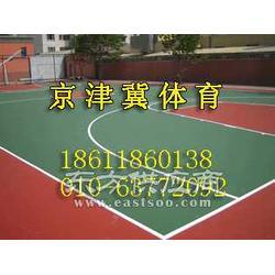 鄂尔多斯篮球场建设-鄂尔多斯丙烯酸篮球场图片