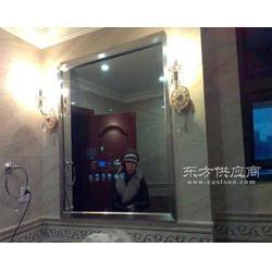 浴室镜子电视定制,酒店防水镜子电视定制厂家图片