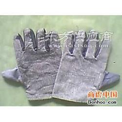 牛仔布耐高温手套图片