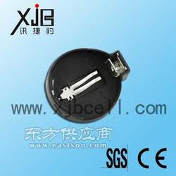 销售电池配件材料 CR2032塑胶电池座 纽扣电池座图片