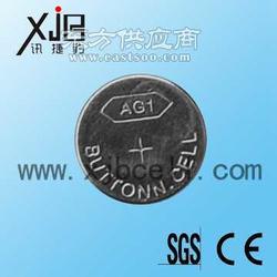 供应AG1碱性锌锰纽扣电池 手电筒AG1电池图片