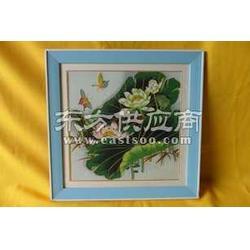 供应珐琅画山水花卉图片