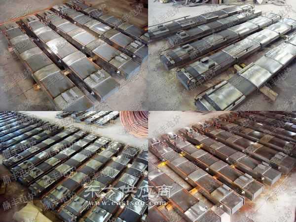 高品质取向钢中频炉专用磁轭 硅钢柱 轭铁图片