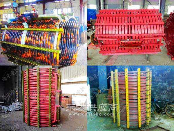12吨中频炉线圈图片