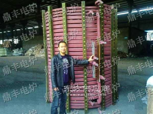 30吨感应圈30T中频炉感应圈感应圈图片