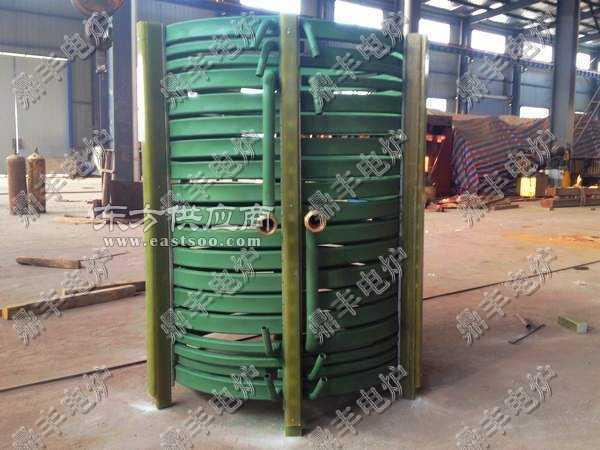 3.5吨真空熔炼炉感应圈图片