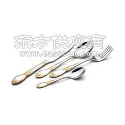 优质不锈钢西餐具 西餐刀叉勺os102海棠花系列图片