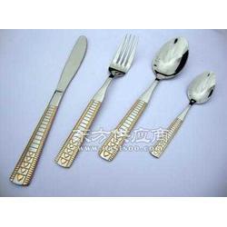 奥斯顿高档不锈钢餐具方柄系列图片