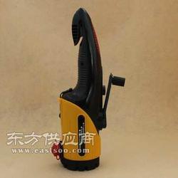 应急手电筒 逃生器破窗器 手摇手电筒 汽车安全锤图片