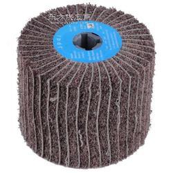 JPDL细纹加砂拉丝轮-金属表面拉丝锻纹拉砂图片