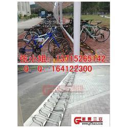 商业化自行车停车架.个性化电动车摆放架图片