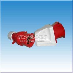 工业插座 防水接头铸铝防爆盒图片