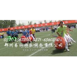 企业举办活动YX趣味运动会团体项目多人环环相扣跑图片