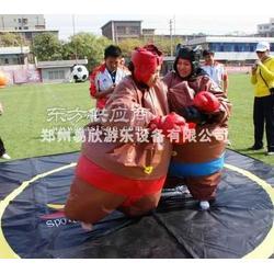 超级相扑服租赁充气碰碰球趣味充气投篮快乐大脚比赛图片