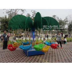 儿童电动旋转秋千鱼户外小飞鱼广场公园游乐玩具图片