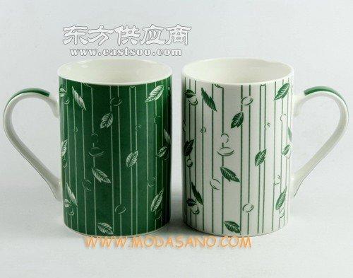 陶瓷杯定制青花陶瓷杯咖啡杯碟定制LOGO酒店马克杯