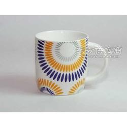 马克杯定制陶瓷杯水杯咖啡杯广告杯定制抽象图案杯图片