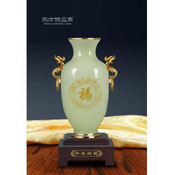 水晶礼品 礼品团购网站 花瓶平安纳福家居摆件图片
