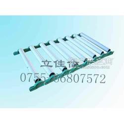 无动力滚筒输送机滚筒双链轮动力滚筒卷轴图片