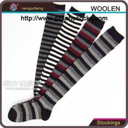 袜子厂家男士加厚兔羊毛袜冬季保暖长筒图片