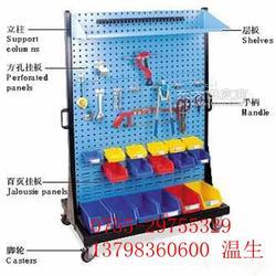 移动型物料整理架-零件盒挂板架图片
