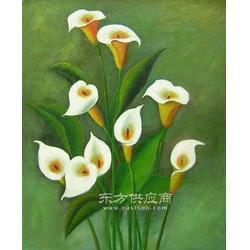 达派恩花卉手工油画图片