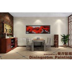 达派恩油画风景人物餐厅抽象图片