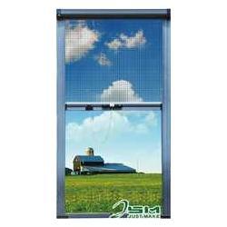 供应全国隐形防盗纱窗纱窗对照表图片