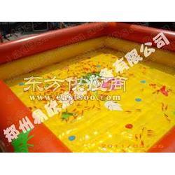 可定做儿童大型充气沙池成人充气水池游泳池包邮图片