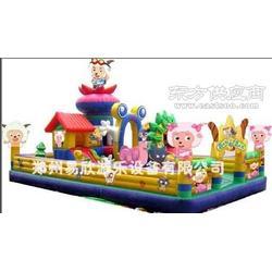 熊出没儿童充气滑梯蹦蹦床大型充气城堡胶水修补方法图片