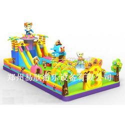 大型充气蹦蹦床滑梯 幼儿园大型滑梯组合图片