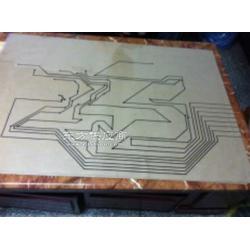 厂家供应大型地图薄膜线路碳膜线路软性板图片