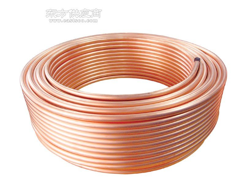 洛铜64MM紫铜管T2空调紫铜盘管61MM现货