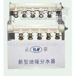 黄铜分水器地暖集成分水器图片