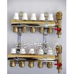DN321路12路铜制地暖分水器图片