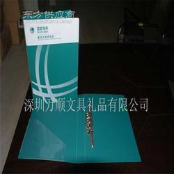 灰色展业夹 定制企业文件夹 订做磨砂资料夹R15-5图片