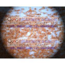 石化管道 内部喷砂防腐金刚砂 石榴石砂图片