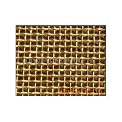 黄铜轧花网H65黄铜药筛网160目铜锌合金网厂家图片