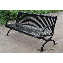 钢制户外公园椅,公园长条椅,铸铁公园椅图片