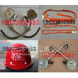 JTJH-D型脚扣蚕丝安全带近电报警安全帽-图片