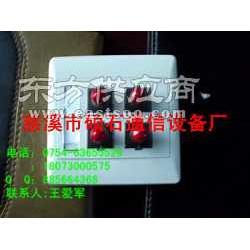 4口ST适配器信息面板 光纤信息面板生产厂家图片