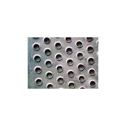 金属防滑板不锈钢圆孔翻边防滑板铝板防滑板图片