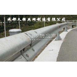 公路双波三波波形护栏 波形梁钢护栏板生产厂家图片