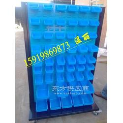 螺丝盒摆放货架-零件盒挂板货架-置物盒工具货架图片