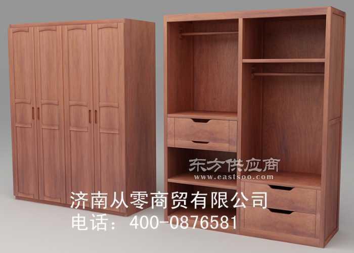供应纯香椿木红椿木实木衣柜价格