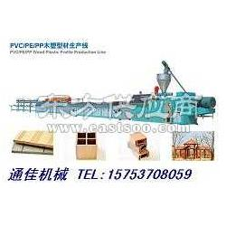 木塑户外亭台机械设备图片